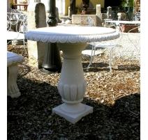 Table ronde en pierre de Vicenza