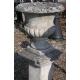 Vasque en pierre de Vicenza sur un socle