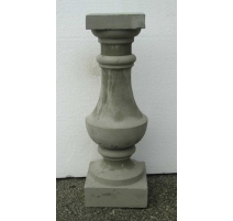 Pillier balustre en ciment