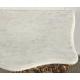 """Console Louis XVI """"Deux colombes"""", marbre blanc"""
