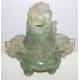 Brûle-parfum à large panse en jade