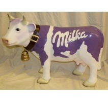"Vache en résine ""Milka"""