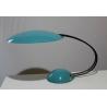 Lampe design demi-sphères turquoises