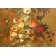 """Tableau """"Bouquet de fleurs"""" att. BELIN DE FONTENAY"""