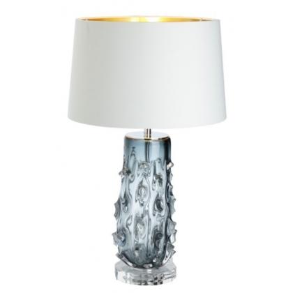 lampe rico en verre souffl et nickel moinat sa. Black Bedroom Furniture Sets. Home Design Ideas
