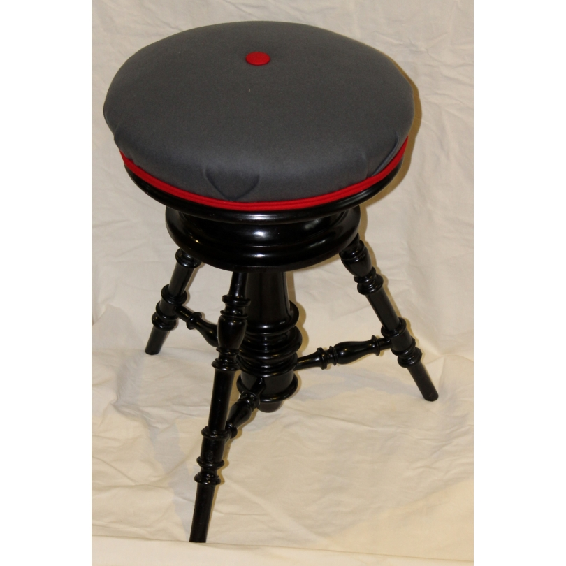 tabouret tournant napol on iii b ret sur moinat sa. Black Bedroom Furniture Sets. Home Design Ideas