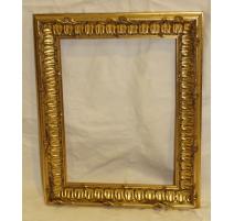 Cadre à tableau style Louis XV doré