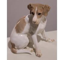 Chien Beagle en porcelaine de Bing & Grondahl