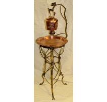 Samovar Art Nouveau WMF en cuivre et laiton