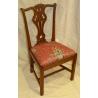 Suite de 8 chaises anglaises chippendale