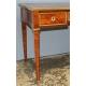 Bureau plat style Louis XVI à 3 tiroirs