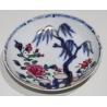 Soucoupe en porcelaine chinoise