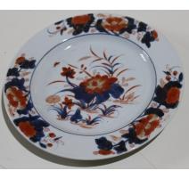 """Assiette en porcelaine chinoise """"Nénuphar"""""""