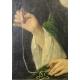 """Paire de portraits """"Monod"""" par LANDER 1757"""
