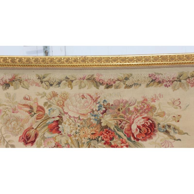 Salon style louis xvi dor tapisserie aubusson sur moinat for Salon style louis 16