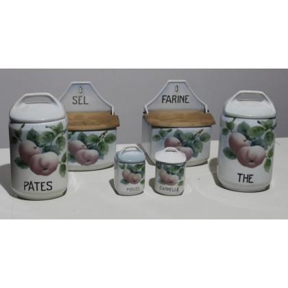 Série de pots à épices de Krautzberger