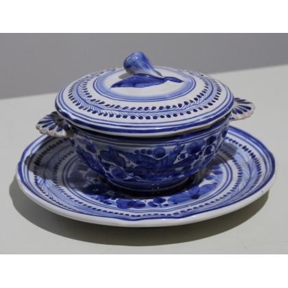 Confiturier en céramique de Deruta