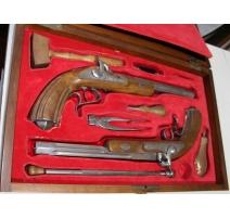 Boite de pistolets de duel espagnols