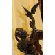 """Bronze """"Fauconnier arabe à cheval"""" signé P.J. MÈNE"""