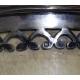 Coupe libatoire en corne et métal argenté