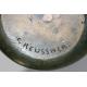 "Vase ""Scarabée"" en bronze signé C. REUSSNER"