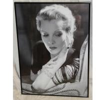 """Poster encadré """"Natalie Paley"""" pour Cartier"""