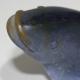 Poisson en pâte de verre teintée signé DAUM