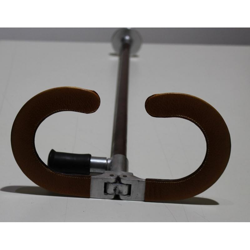 canne si ge de battue au pommeau en cuir moinat sa antiquit s d coration. Black Bedroom Furniture Sets. Home Design Ideas