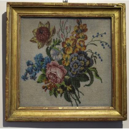 "Broderie de perles ""Bouquet de fleurs"""