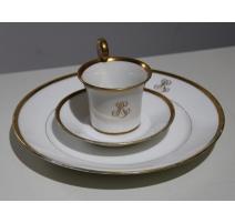Service en porcelaine par Ed. Honoré & Cie, Paris
