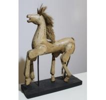 Cheval en bois articulé - grand