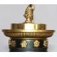 Lustre Empire en bronze ciselé et doré