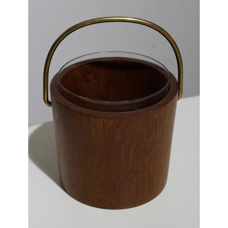 seau gla ons en teck par digsmed moinat sa antiquit s d coration. Black Bedroom Furniture Sets. Home Design Ideas
