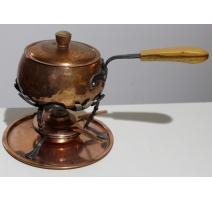 Set à fondue chinoise en cuivre par STÖKLI NETSTAL