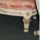 Paire de repose-pieds style Louis XVI sculptés
