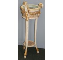 Selette ou jardinière style Louis XVI sculpté