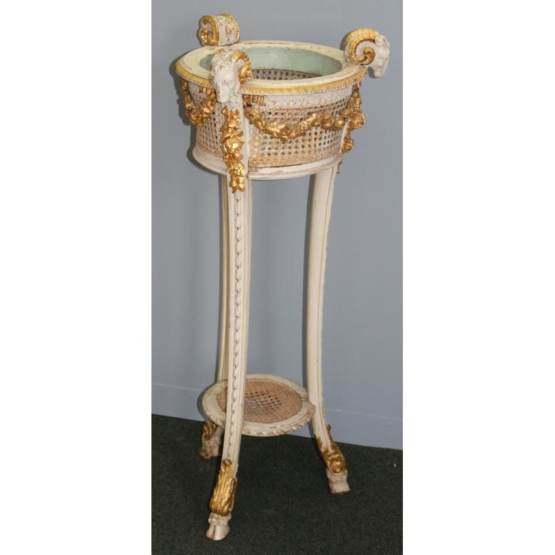 Sellette ou jardinière style Louis XVI sculpté