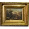 """Paire de tableaux """"Paysages de montagne"""""""