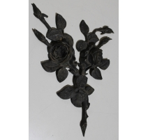"""Décor en bronze """"Roses"""""""