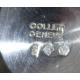 Coupe de mariage en argent par Collet Genève
