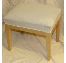 Tabouret rectangulaire style Directoire