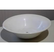 Vasque de lavabo ronde en céramique