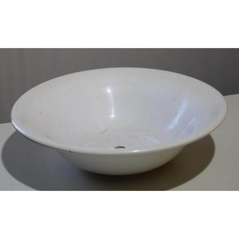 vasque de lavabo ronde en c ramique sur moinat sa antiquit s d coration. Black Bedroom Furniture Sets. Home Design Ideas