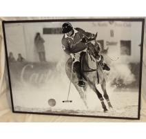 """Poster encadré """"Polo"""" pour Cartier"""