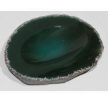 Cendrier vide-poche en pierre dure verte
