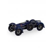 Modèle de voiture retro bleue