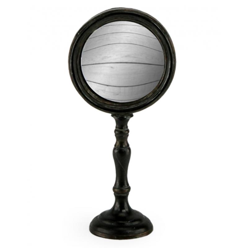 Miroir convex sur pied moyen mod le sur moinat sa for Miroir sur pied but