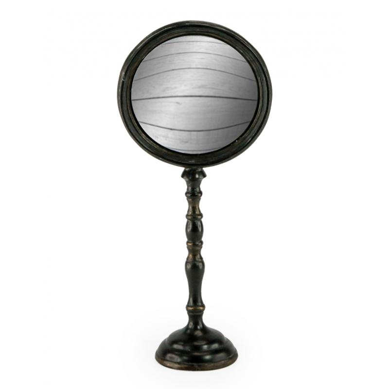 Miroir convex sur pied grand mod le sur moinat sa Grand miroir pied