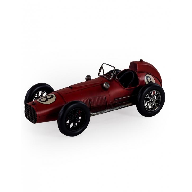 Modèle de voiture retro rouge