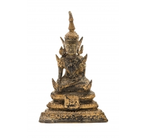 Bronze doré bouddha thaï